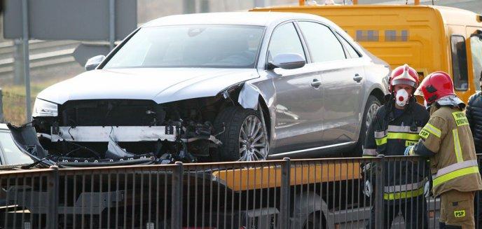 Artykuł: Kolizja na ul. Artyleryjskiej. 70-letni kierowca pojazdu ciężarowego uderzył w audi [ZDJĘCIA]