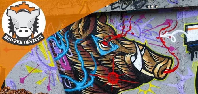 Artykuł: Dzik gwiazdą nowego graffiti na Nagórkach [ZDJĘCIA]