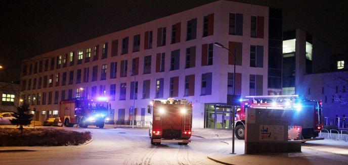 Artykuł: Interwencja straży pożarnej w Szpitalu Dziecięcym w Olsztynie. W akcji aż 6 zastępów