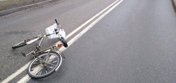 Artykuł: Potrącenie na DK 57. 31-letnia kobieta kierująca fiatem zderzyła się z rowerzystką