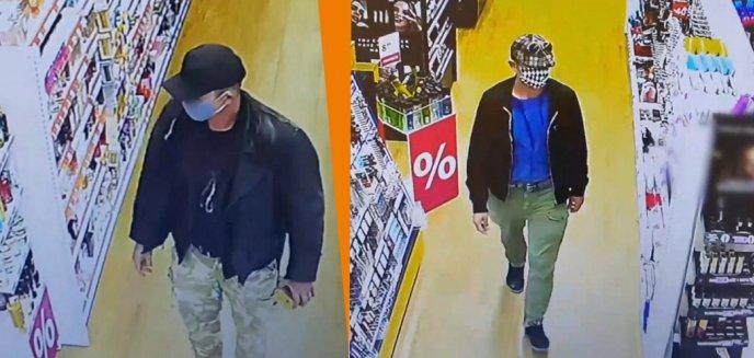 Artykuł: Mężczyźni w maseczkach ukradli bardzo drogie perfumy z drogerii w Olsztynie. Teraz szuka ich policja [WIDEO]