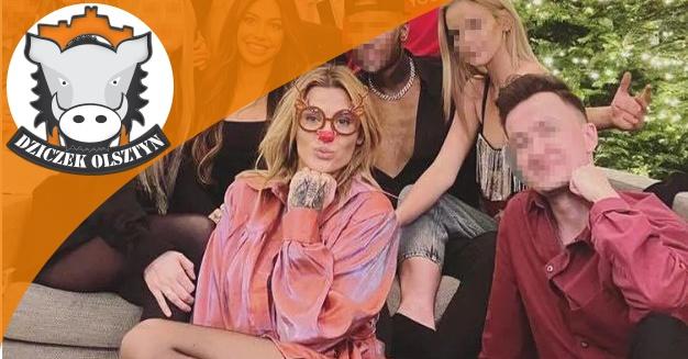 Artykuł: Karolina Gilon, pochodząca z Mrągowa, gwiazda Polsatu, w dobie koronawirusa bawi się ze znajomymi na imprezie