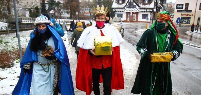Artykuł: Ulicami Olsztyna przeszedł mini Orszak Trzech Króli  [ZDJĘCIA, WIDEO]