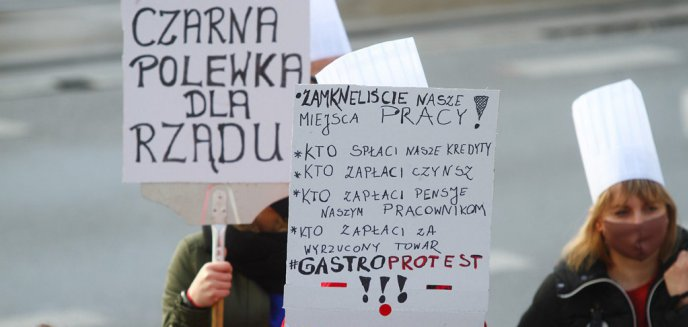 Artykuł: Przedsiębiorcy w Olsztynie mają dość obostrzeń. Otworzą restauracje