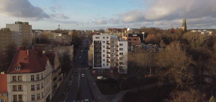 Ten budynek to pierwszy wieżowiec w Olsztynie [WIDEO]