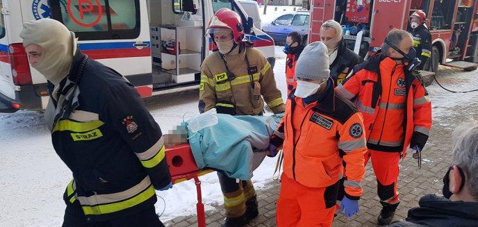 Artykuł: Pożar w mieszkaniu przy ul. Jagiellońskiej w Olsztynie. Nowe informacje nt. poszkodowanych