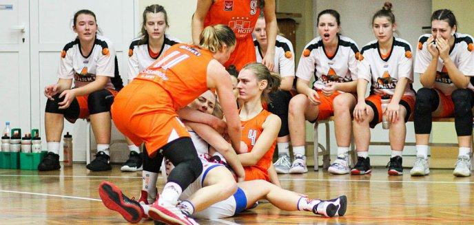 Artykuł: Koszykówka kobiet. KKS Olsztyn na drugim miejscu w tabeli I ligi