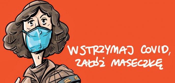 Artykuł: Kopernik promuje noszenie maseczek w Toruniu. Czy Olsztyn planuje podobne akcje?