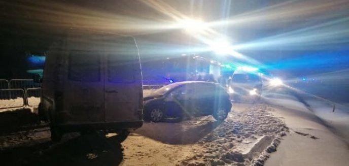 Artykuł: Wypadek w Dywitach. Zablokowana DK 51