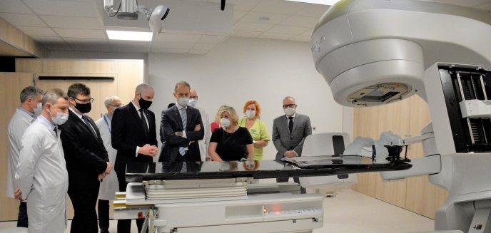 Artykuł: W poliklinice otwarto zakład radioterapii za 35 mln zł. Szpital dysponuje nowymi metodami do walki z rakiem