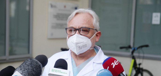 Artykuł: Wojciech Maksymowicz: ''Śledzenie zachorowalności powinno być prowadzone na poziomie gmin i tu mamy największy problem''