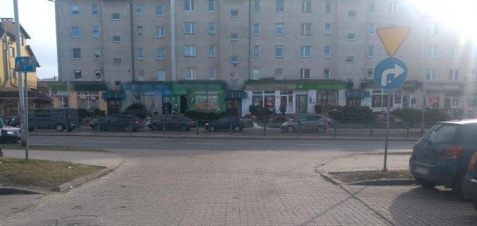 Artykuł: Wypadek na olsztyńskich Jarotach. Rowerzysta trafił do szpitala