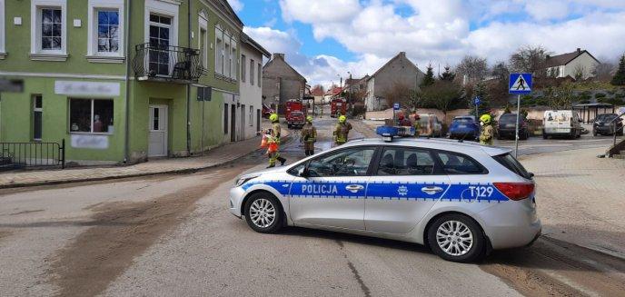 Artykuł: Ewakuacja w Barczewie. Doszło do uszkodzenia gazociągu [AKTUALIZACJA]