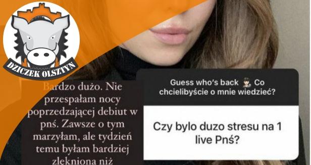 Artykuł: Miss Polonia z Olsztyna, Izabella Krzan nie mogła spać przed debiutem w ''Pytaniu na śniadanie''