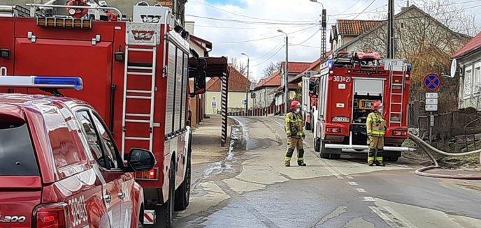 Artykuł: Echa sobotniej akcji w Barczewie. Niektórzy mieszkańcy ubliżali strażakom