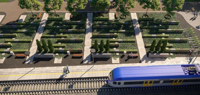 Artykuł: Miasto wybrało wykonawcę węzła przesiadkowego Olsztyn-Śródmieście