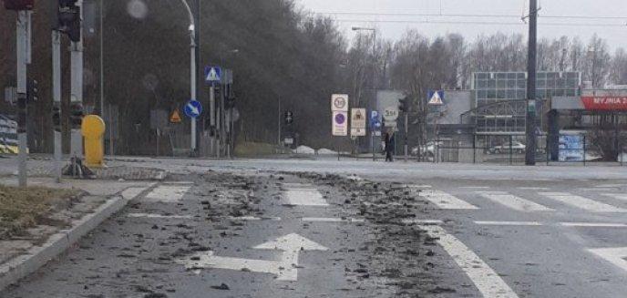 Artykuł: Kierownik budowy nowego salonu meblowego w Olsztynie ukarany przez strażników