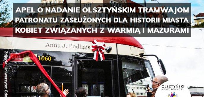 Przedstawiciele LGBT chcą nadać tramwajom w Olsztynie żeńskie nazwy