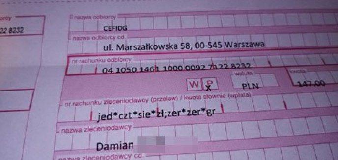 Artykuł: Uwaga na naciągaczy! Olsztyński przedsiębiorca demaskuje jednego z nich
