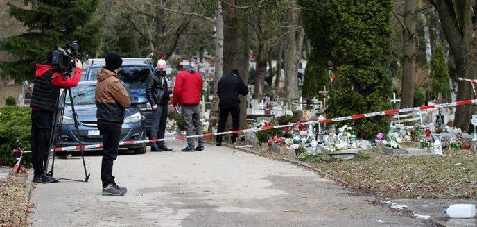 Artykuł: Policja zatrzymała 38-latka, który może mieć związek z dewastacją cmentarza