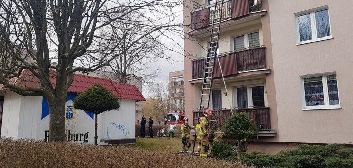 Artykuł: Chwile grozy na osiedlu Generałów w Olsztynie. Interweniowała straż pożarna