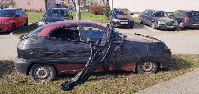 Artykuł: Olsztyn miastem porzuconych aut? [ZDJĘCIA]