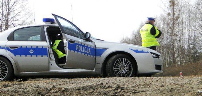 Artykuł: Policyjny pościg za poszukiwanym na ul. Szrajbera w Olsztynie. 26-latek uciekał skuterem po chodniku