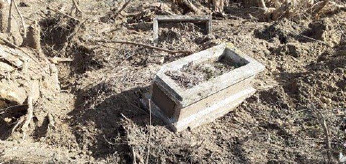 Artykuł: Zniszczono cmentarz ewangelicki pod Ełkiem! Odpowiedzialny za to ma być proboszcz rzymskokatolicki [ZDJĘCIA]