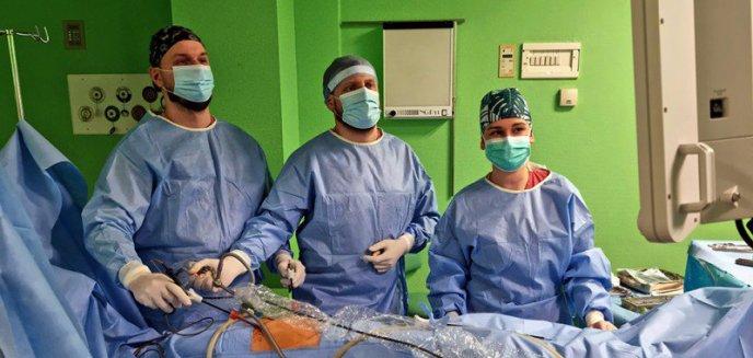 Sukces olsztyńskich chirurgów ogólnych