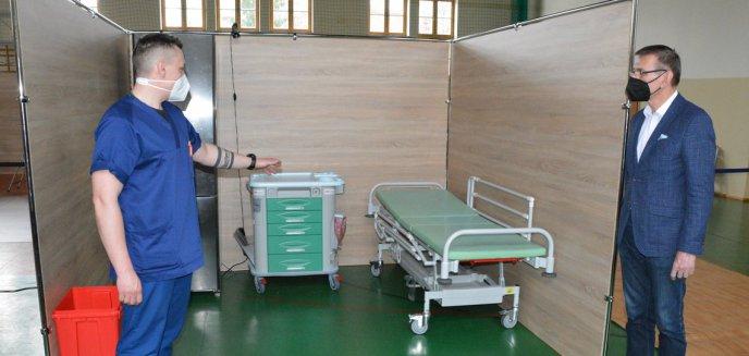 Artykuł: Punkt Szczepień Powszechnych gotowy w Olsztynie. Grzymowicz: ''Z moich informacji wynika, że brakuje szczepionek''