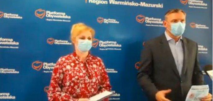Artykuł: Zastępca prezydenta Olsztyna i przedstawiciel Koalicji Obywatelskiej apelują do rządu poprawę skuteczności procesu szczepień