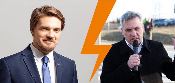 Michał Wypij, niczym wytrawny bokser, atakuje Jerzego Szmita. Czy to odwet?