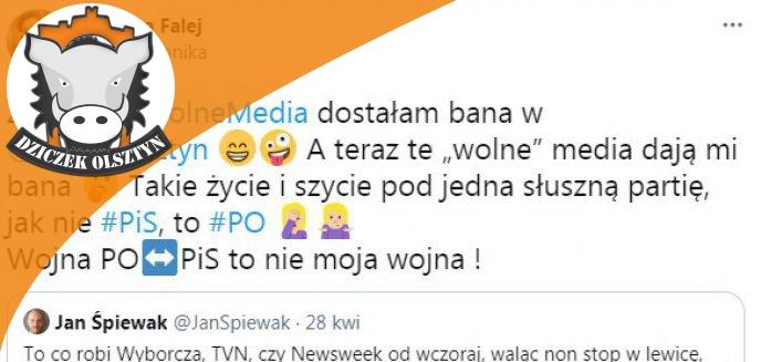 Artykuł: Dramat posłanki Moniki Falej. Otrzymała ''bana'' od Radia Olsztyn?