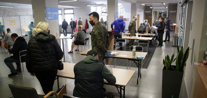 Ogromne zainteresowanie akcją ''Zaszczep się na majówkę'' w Olsztynie! Zaszczepiono ponad 3 tys. osób