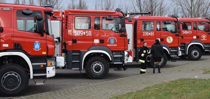 Strażacy-ochotnicy otrzymają nowe wozy. Trafią do 14 jednostek z Warmii i Mazur [LISTA]