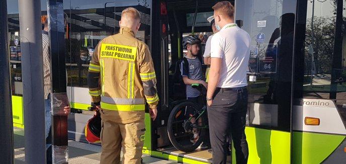 Artykuł: 12-letni rowerzysta zderzył się z tramwajem na al. Sikorskiego w Olsztynie