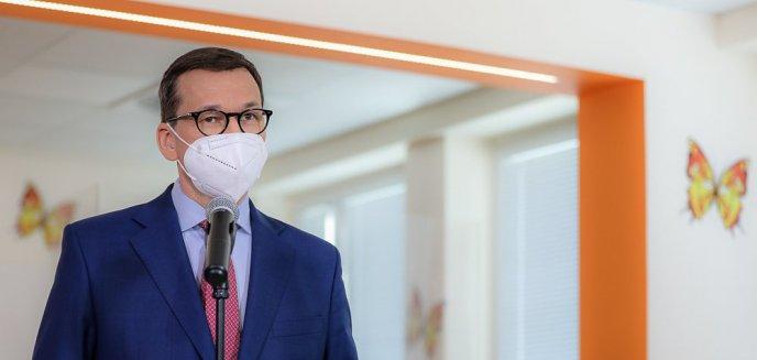 Premier Mateusz Morawiecki: ''Przyspieszamy otwarcie kin, teatrów i obiektów kultury''