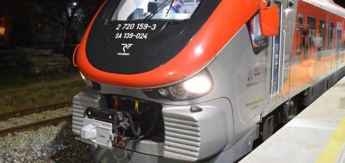 Artykuł: O krok od tragedii. Ktoś próbował wykoleić pociąg jadący do Olsztyna