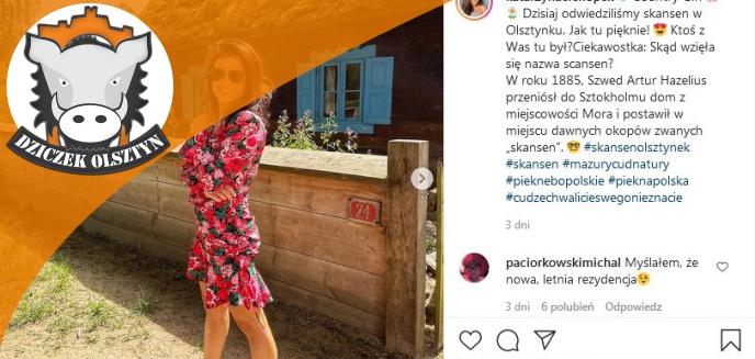 Artykuł: Katarzyna Cichopek, aktorka w ''M jak miłość'', zakochana w… Warmii i Mazurach