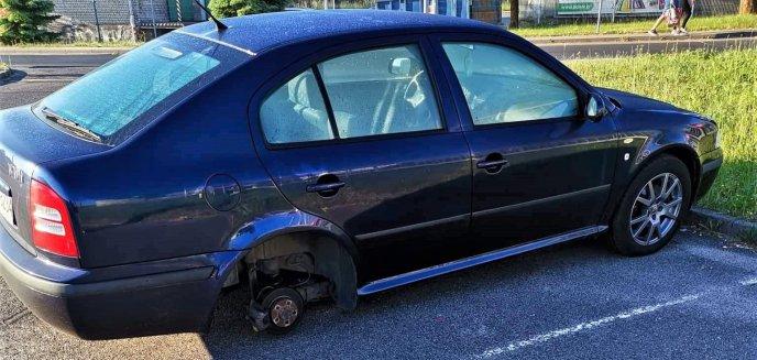 Artykuł: Zostawił auto na parkingu na osiedlu Kętrzyńskiego. W nocy skradziono oponę i felgę