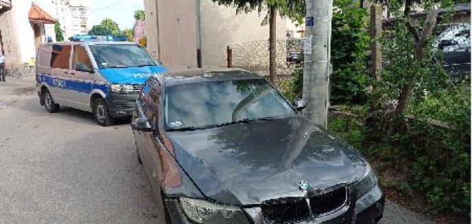 Artykuł: Policyjny pościg ulicami Olsztynka za kierowcą BMW. 21-latek był kompletnie pijany