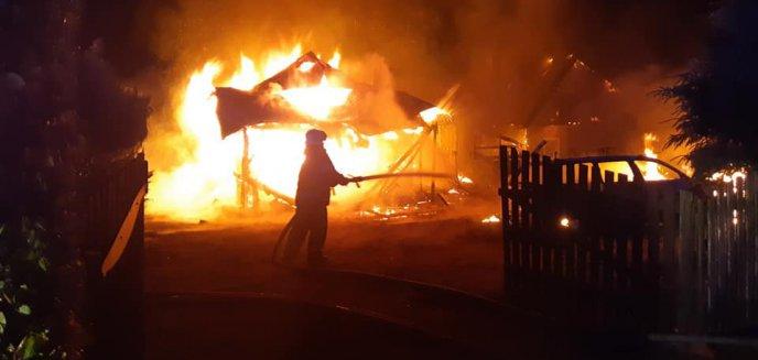 Artykuł: Tragedia pod Olsztynem. W pożarze domku letniskowego zginęły dwie kobiety