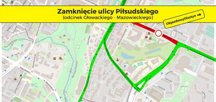 Budowa linii tramwajowej. Kierowcy muszą przygotować się na ogromne korki w centrum Olsztyna