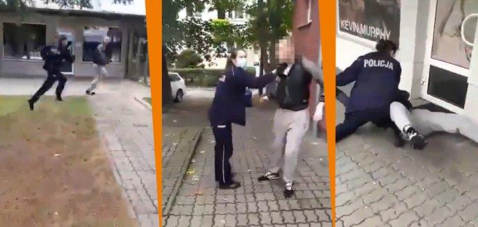 Artykuł: Znieważył policjantkę z Giżycka, która zwróciła mu uwagę na brak maseczki. Odpowie za to przed sądem
