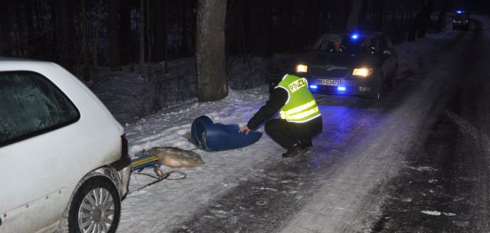 15-latka zginęła podczas kuligu pod Elblągiem. Ojciec ofiary z zarzutami