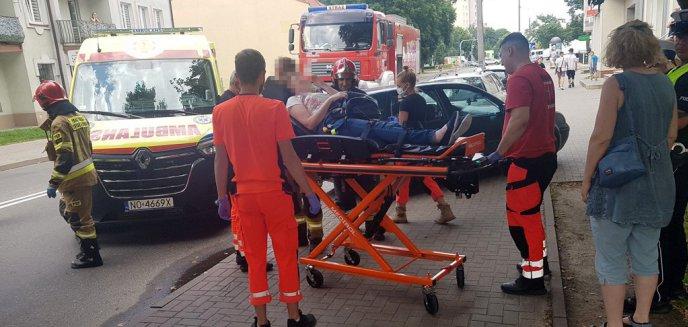 Artykuł: Potrącenie 56-latki na przejściu na ul. Jagiellońskiej przy Biedronce [ZDJĘCIA]