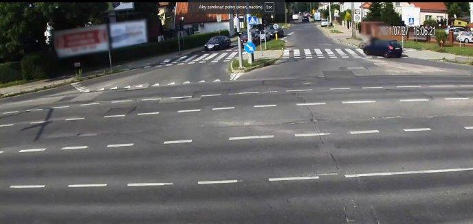 Artykuł: 70-letnia kobieta kierująca skodą potrąciła na ul. Pstrowskiego rowerzystę [WIDEO]