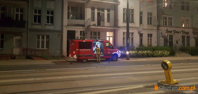 Artykuł: Nietypowa interwencja strażaków przy ulicy Kościuszki w Olsztynie