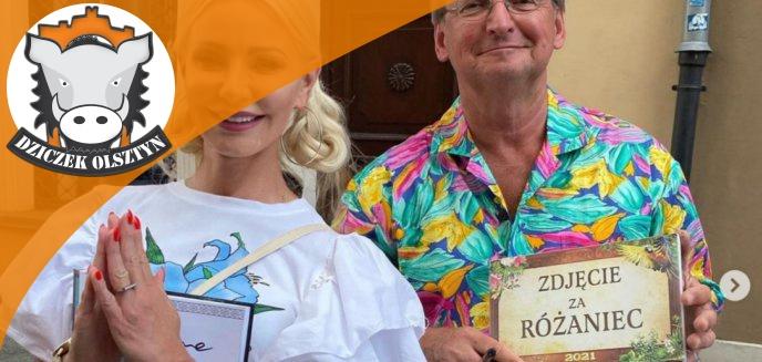 Artykuł: Elwira Smilgin-Brodzik, wokalistka disco polo z Morąga, za zdjęcie z Wojciechem Cejrowskim musiała odmówić różaniec