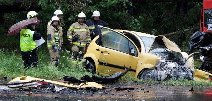 20-latek sprawcą śmiertelnego wypadku na rogatkach Olsztyna [ZDJĘCIA, WIDEO]
